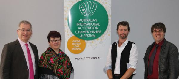 Jury members (left to right): Spodris Kacans (Latvia), Tatjana Marx,  Ben Pattinson,